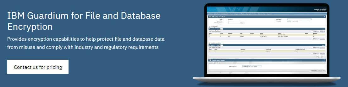 IBM Guardium for File and Database Encryption