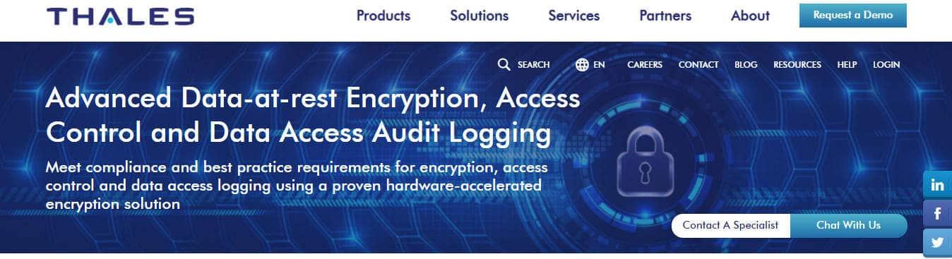 Vormetric Transparent Encryption