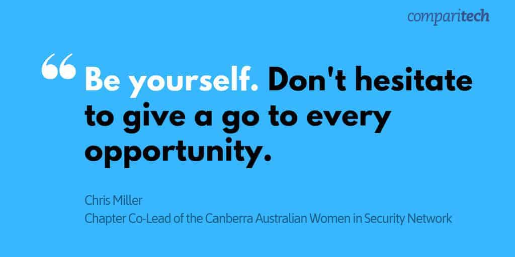 women in cybersecurity initiatives australia