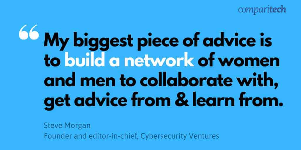 women in cybersecurity initiatives steve morgan