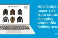 Americans at major risk from online shopping scams this holiday season