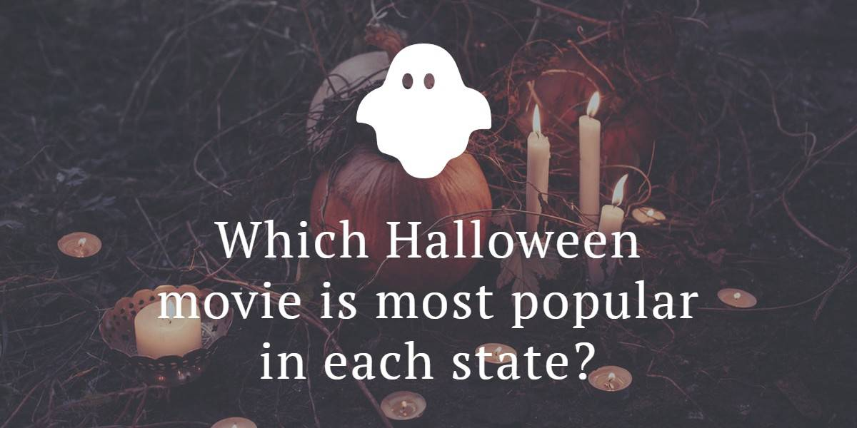 Halloween movies by state