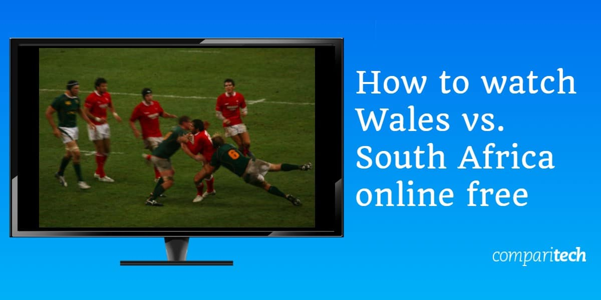 How to watch Wales vs. South Africa online free