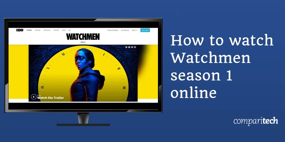 How to watch Watchmen season 1 online