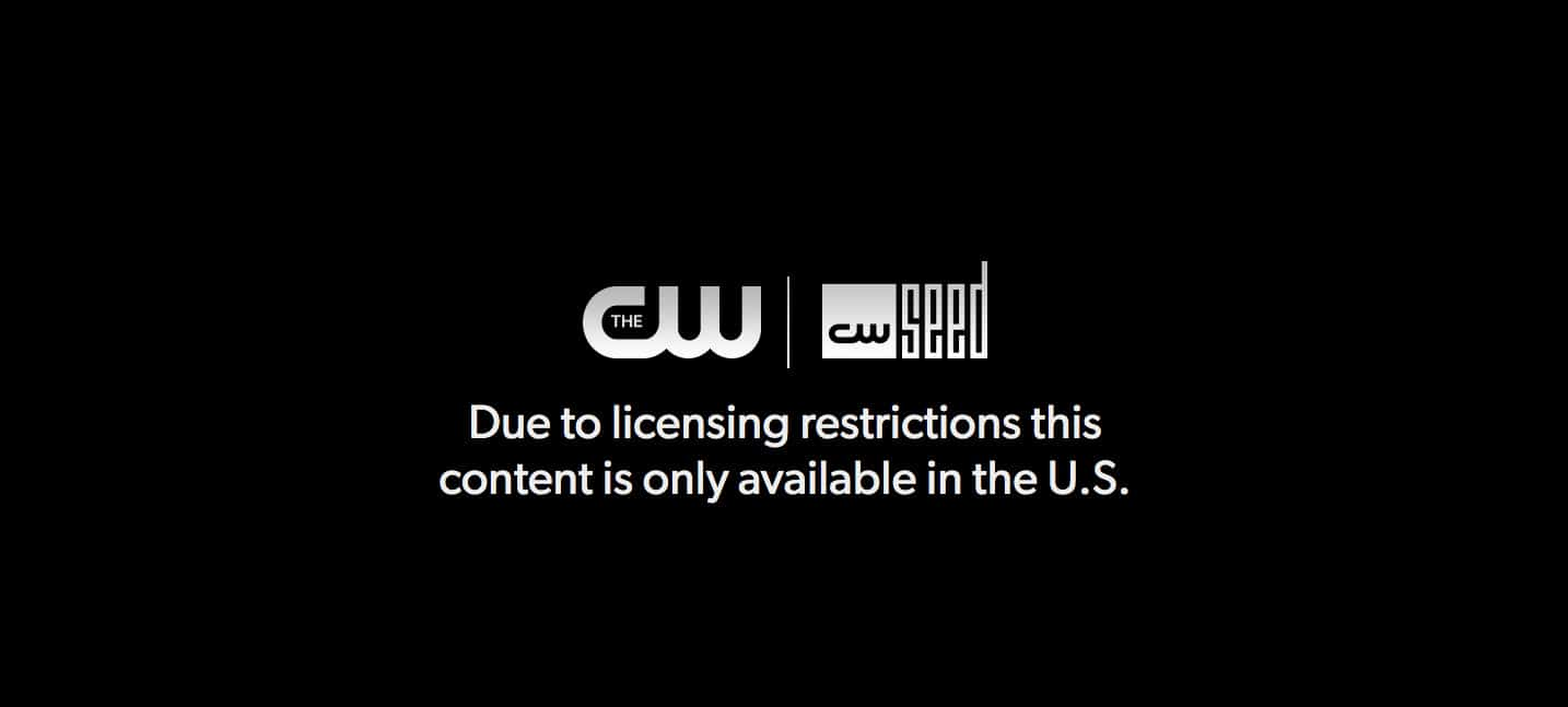 The CW licensing restrictions