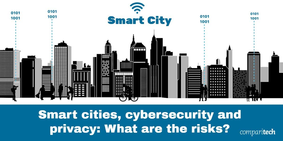 Smart cities, cybersecurity and privacy - What are the risks