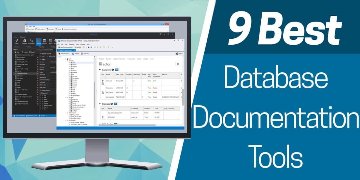 Best Database Documentation tools