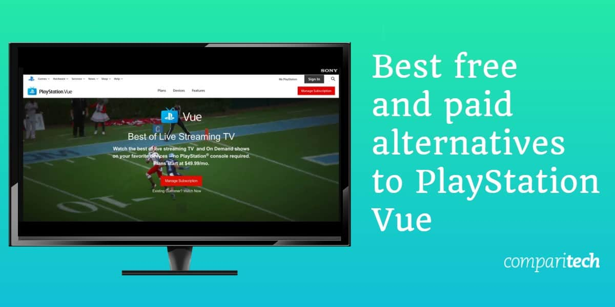 Best free and paid alternatives to PlayStation Vue