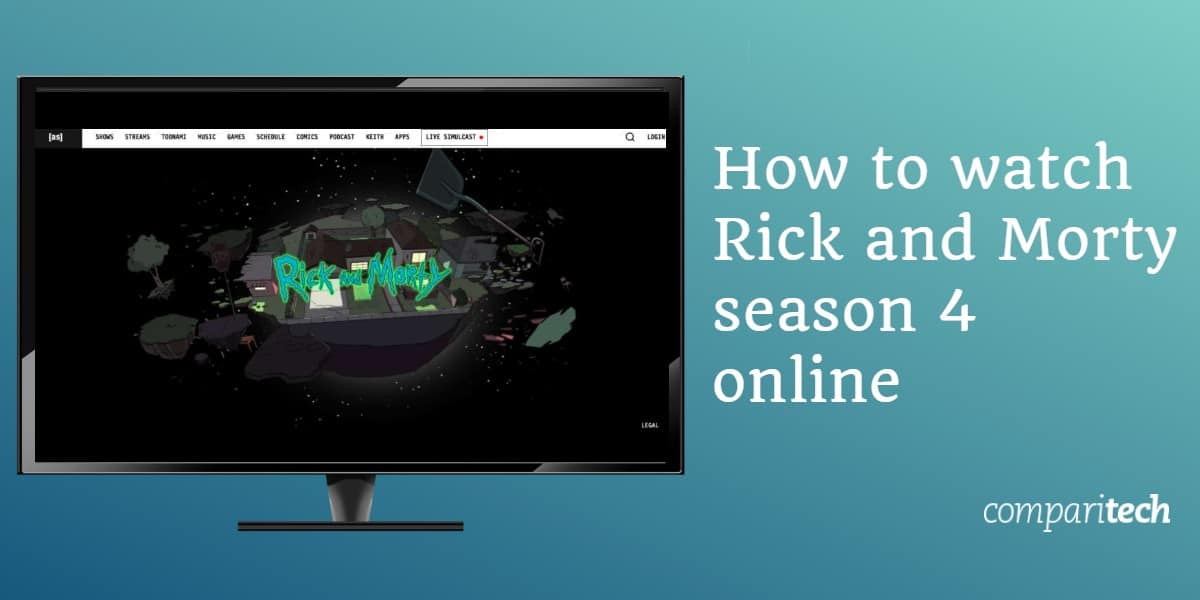 How to watch Rick and Morty season 4 online