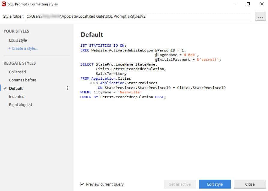 RedGate SQL Prompt