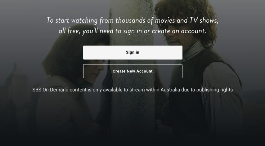 SBS On Demand region-locked