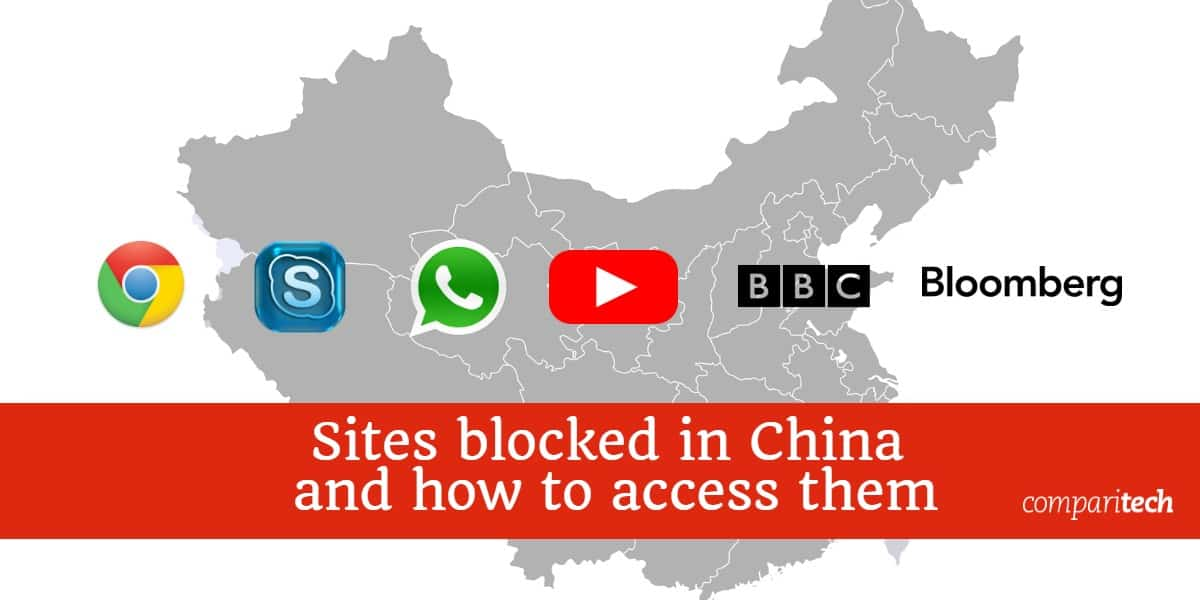 Sites blocked in China and how to access them