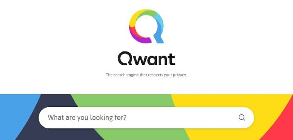 Qwant best private search engine.