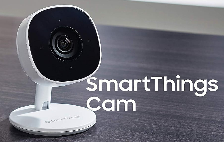 smart home security cameras smartthings