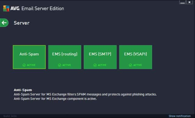 AVG Email Server Security
