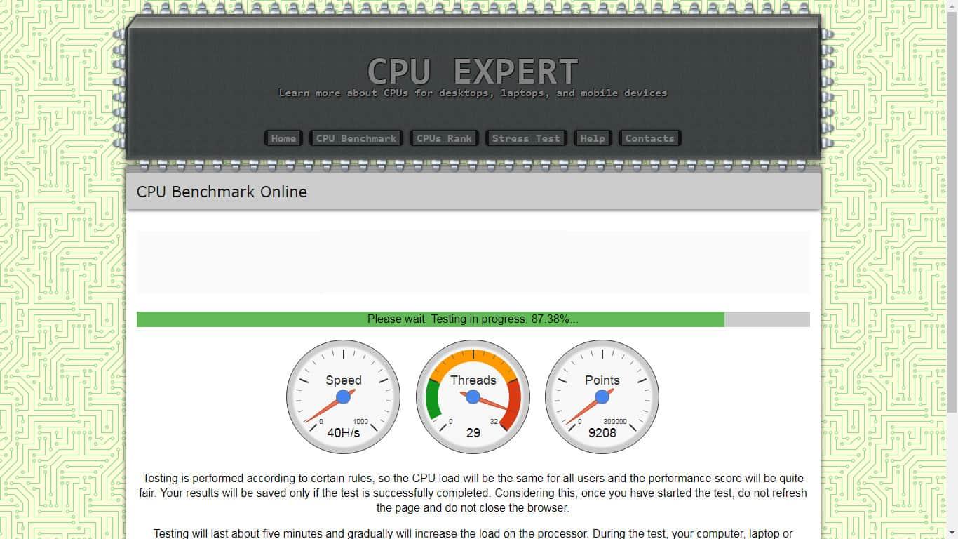 CPU EXPERT - Main