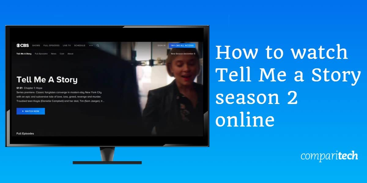 How to watch Tell Me a Story season 2 online