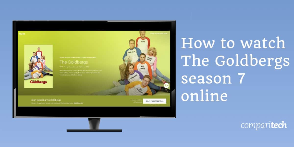 How to watch The Goldbergs season 7 online free