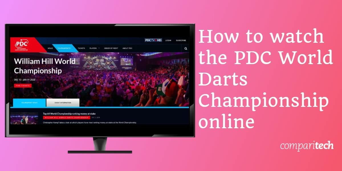 How to watch the PDC World Darts Championship online
