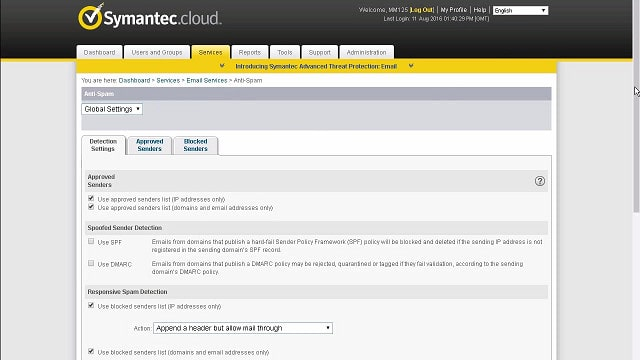 Symantec Email Security Cloud
