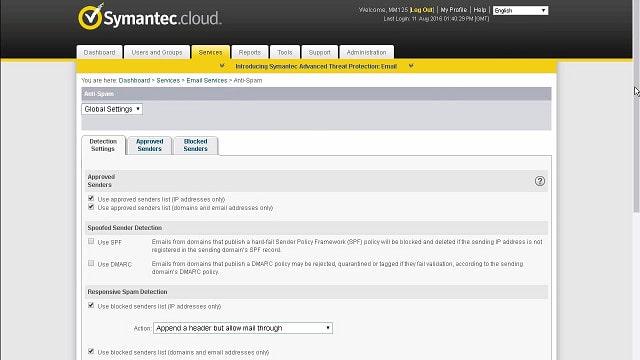 Symantec Email Security Cloud