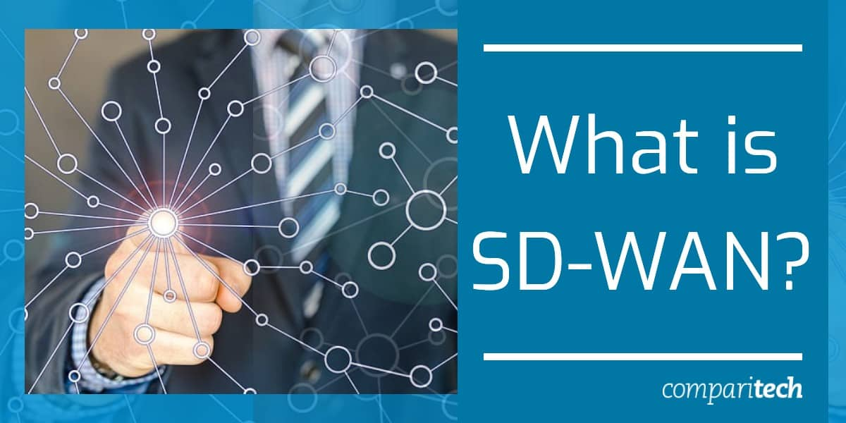 What is an SD-WAN - graphic