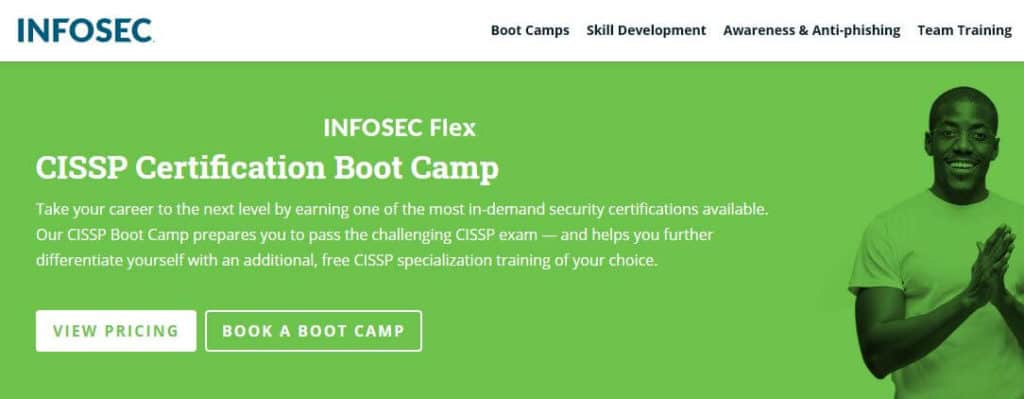 Infosec: CISSP Certification Boot Camp
