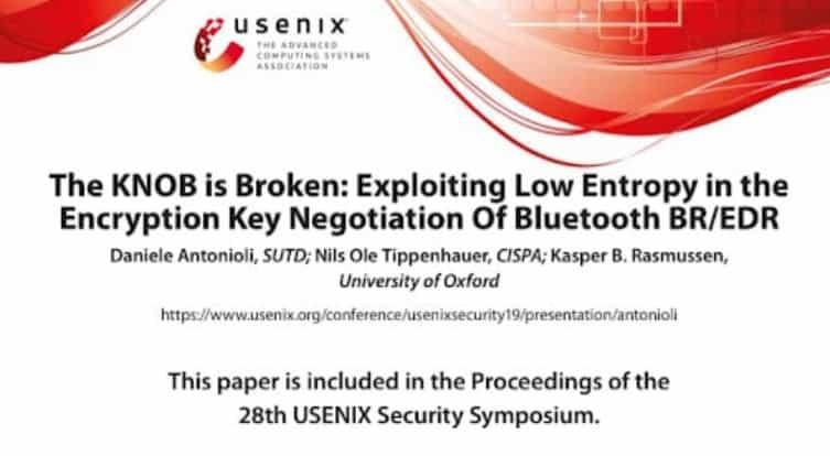bluetooth security broken by knob