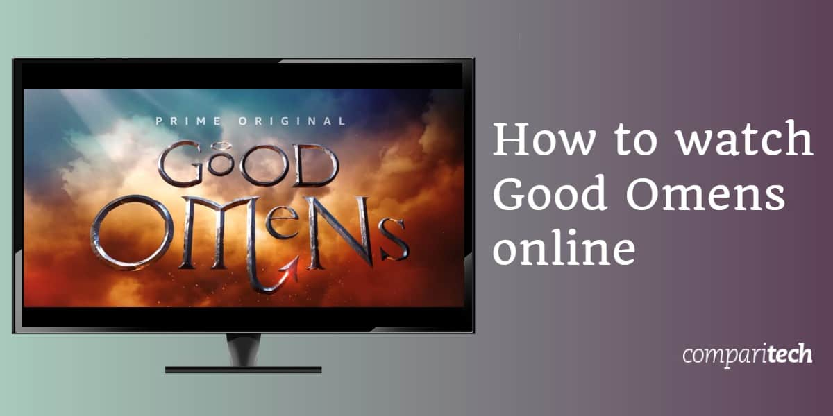 How to watch Good Omens online