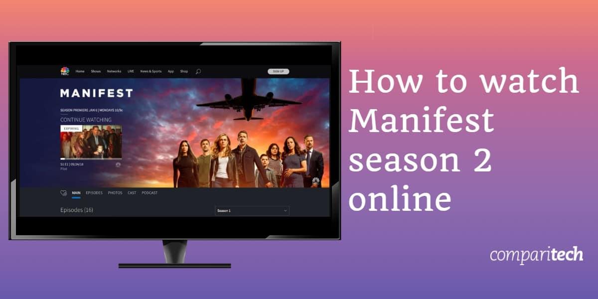 How to watch Manifest season 2 online (1)