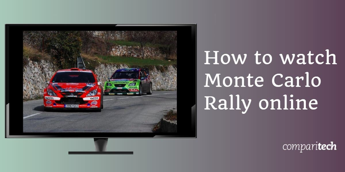 How to watch Monte Carlo Rally online