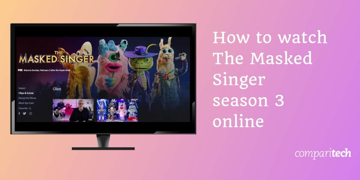 How to watch The Masked Singer season 3 online