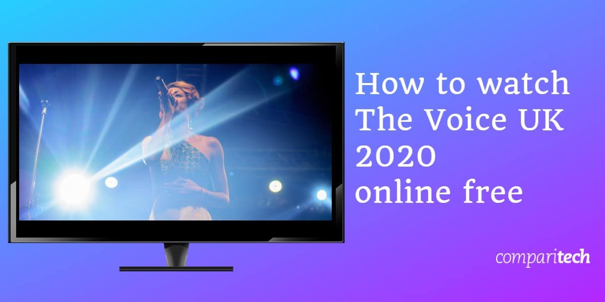 How to watch The Voice UK 2020 online free