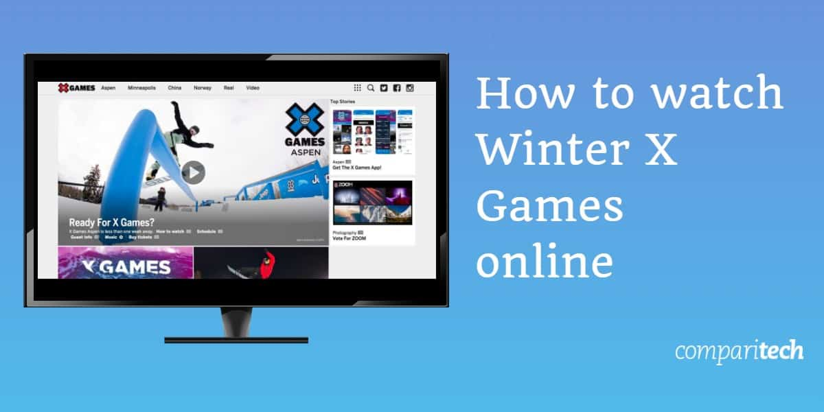 How to watch Winter X Games online