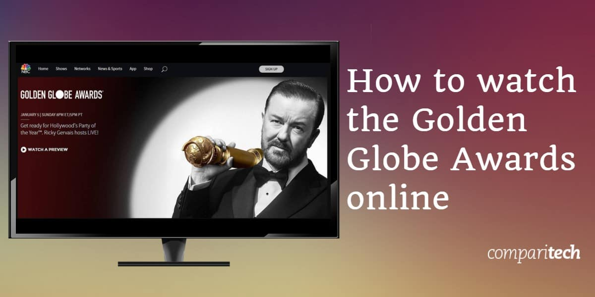 How to watch the Golden Globe Awards online