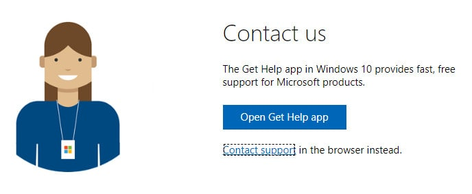 microsoft support 2 ss