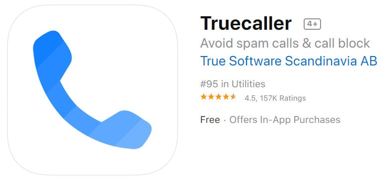 truecaller spam call blocker for ios