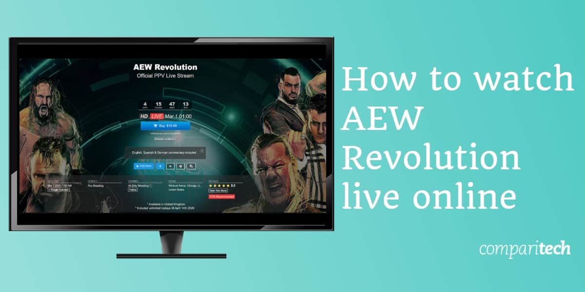 How to watch AEW Revolution live online