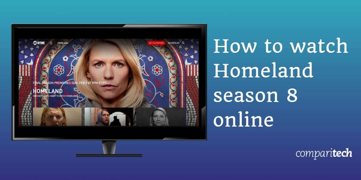 How to watch Homeland season 8 online