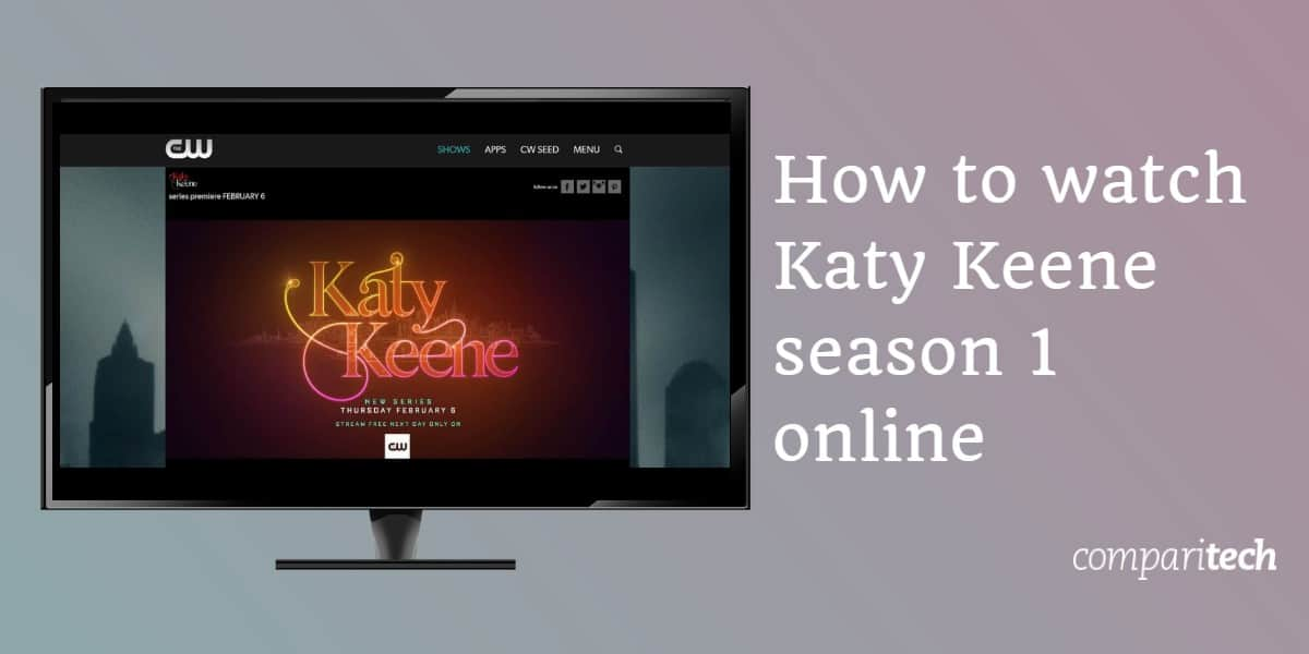 How to watch Katy Keene season 1 online