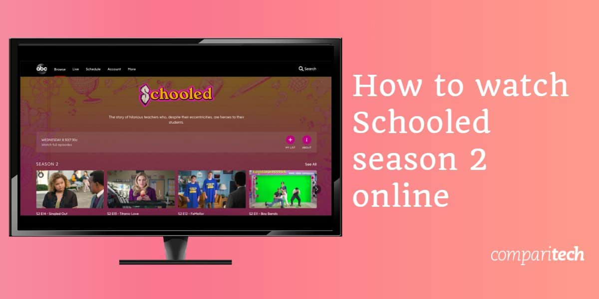 How to watch Schooled season 2 online
