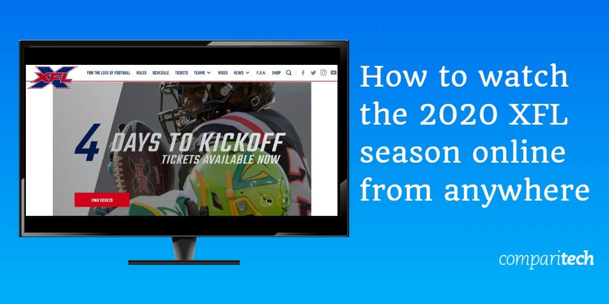 How to watch the 2020 XFL season online from anywhere