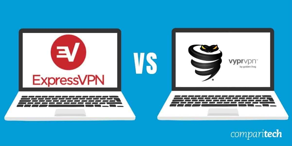 ExpressVPN and VyprVPN