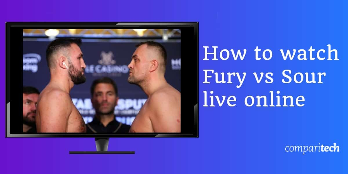 How to watch Fury vs Sour live online