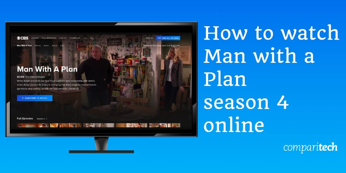 How to watch Man with a Plan season 4 online