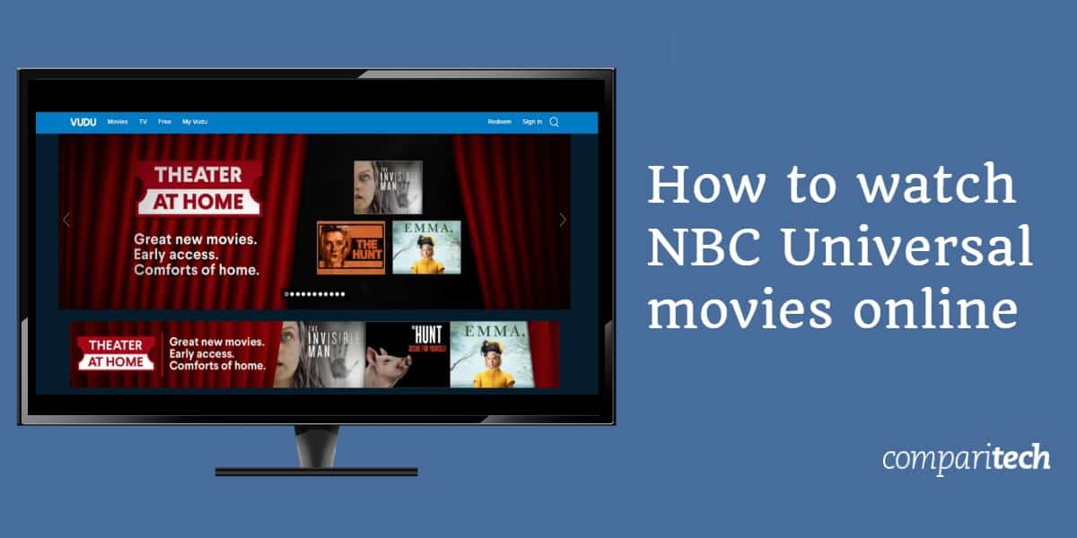 How to watch NBC Universal movies online