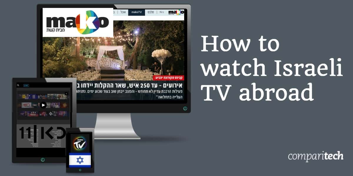 watch Israeli TV abroad
