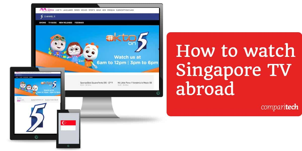 How to watch Singapore TV abroad