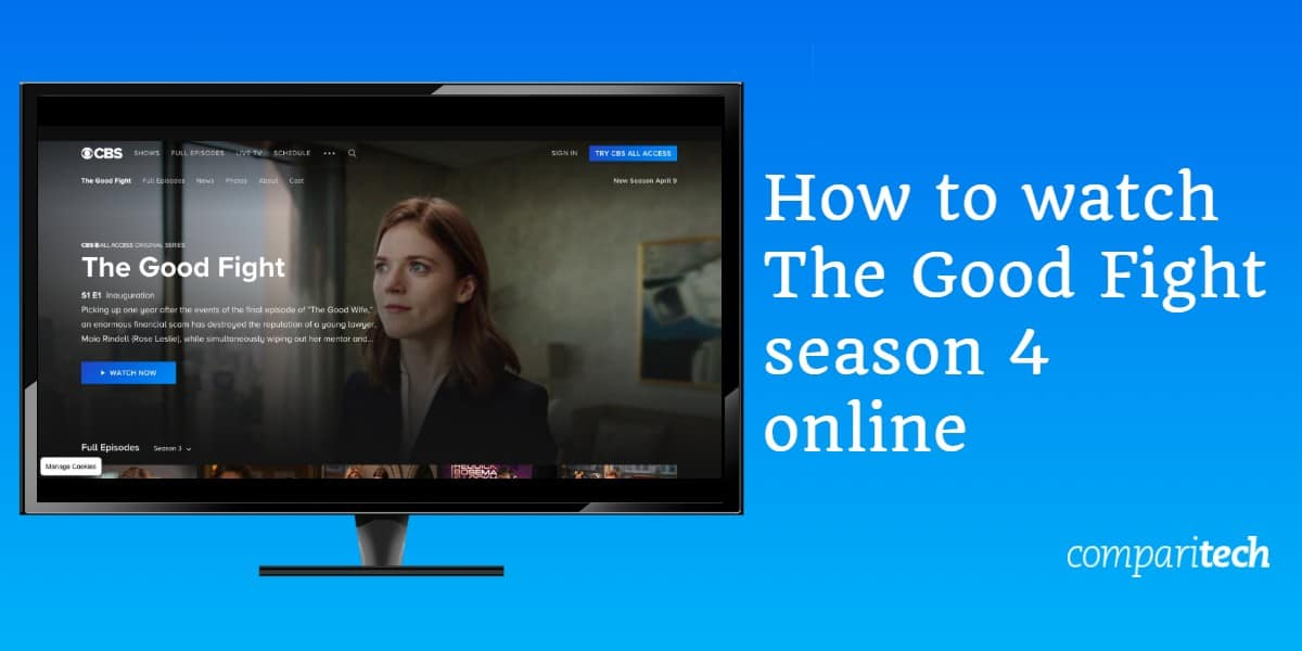 How to watch The Good Fight season 4 online