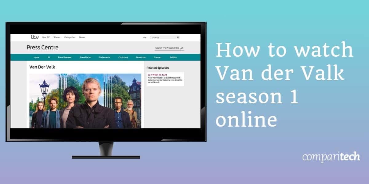 How to watch Van der Valk season 1 online free